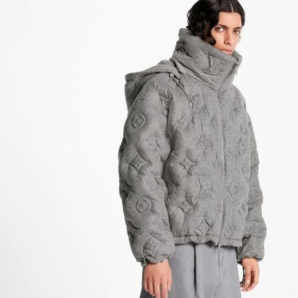 Louis Vuitton MONOGRAM Monogram Boyhood Puffer Jacket
