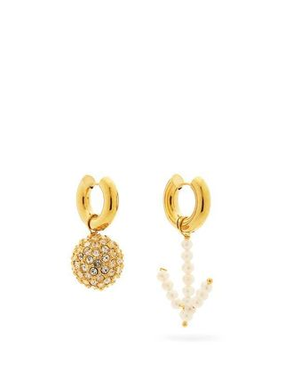 TIMELESS PEARLY Elegant Style Earrings