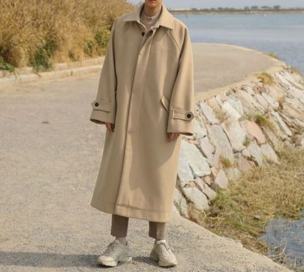 Street Style Long Oversized Trench Coats