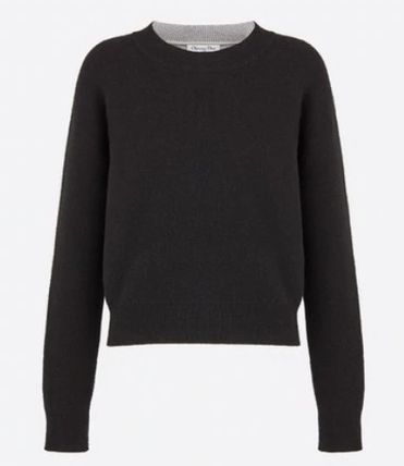 Christian Dior JADIOR Casual Style Cashmere Long Sleeves Cashmere