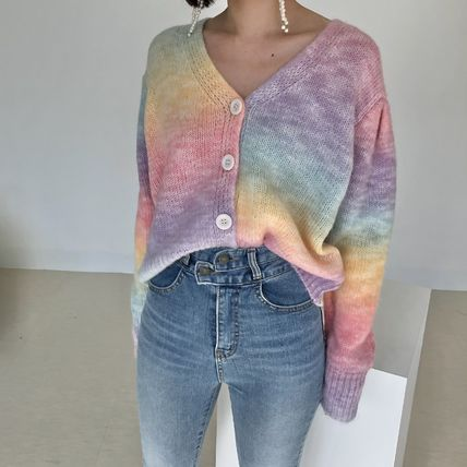 Short Bi-color Long Sleeves Medium Oversized Puff Sleeves