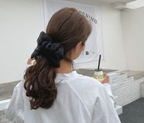 Scrunchy Casual Style Party Style Elegant Style
