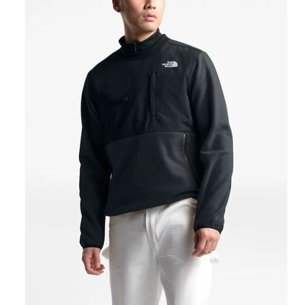 THE NORTH FACE Sweatshirts Crew Neck Pullovers Sweat Street Style Long Sleeves Plain 3