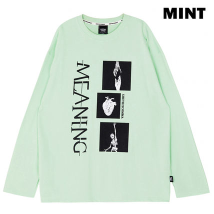 Unisex Street Style Long Sleeves Long Sleeve T-shirt