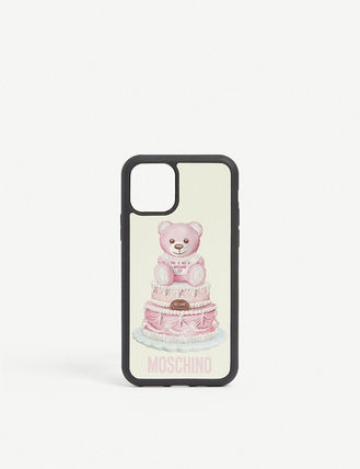 Unisex Plain Silicon Logo iPhone 11 Smart Phone Cases