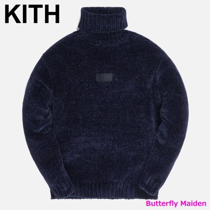 KITH NYC Sweaters Street Style Long Sleeves Plain Logo Sweaters 2