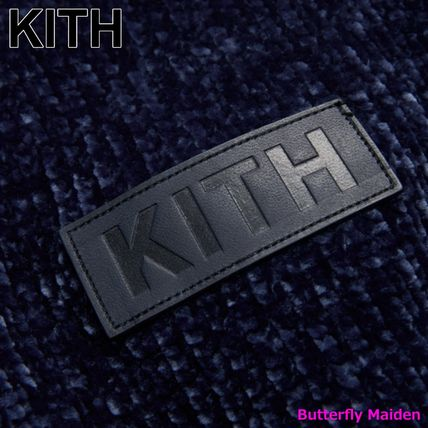 KITH NYC Sweaters Street Style Long Sleeves Plain Logo Sweaters 3