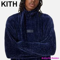 KITH NYC Sweaters Street Style Long Sleeves Plain Logo Sweaters 4