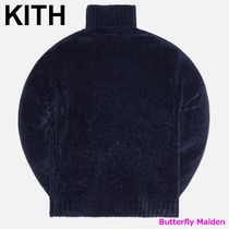 KITH NYC Sweaters Street Style Long Sleeves Plain Logo Sweaters 5