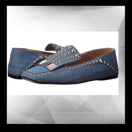 Square Toe Casual Style Studded Office Style Elegant Style