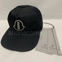 MONCLER Unisex Street Style Collaboration Caps