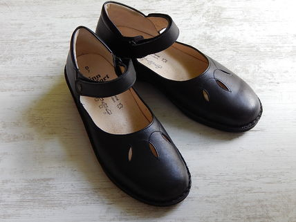Finn Comfort Leather Ballet Shoes