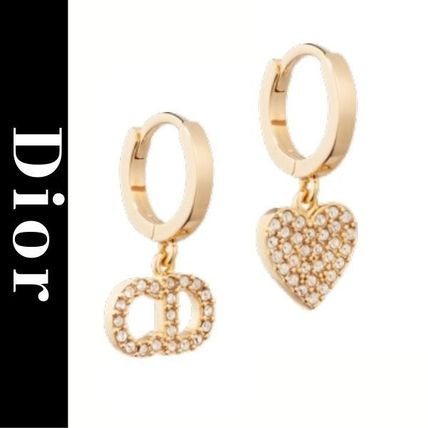 Christian Dior Casual Style Party Style Elegant Style Earrings