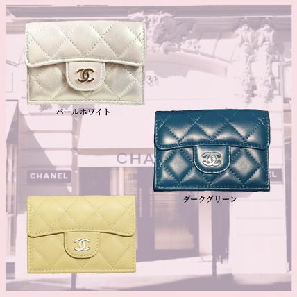 CHANEL MATELASSE 《CHANEL》matrasse small flap wallet