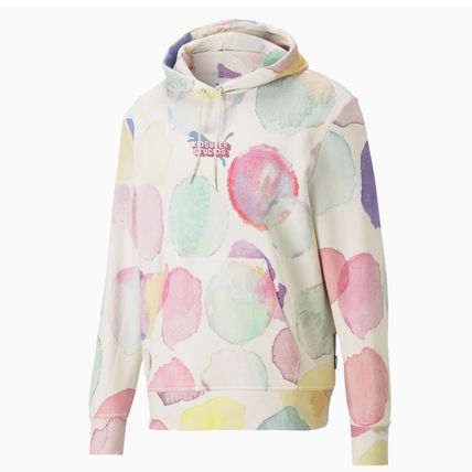 PUMA Hoodies Pullovers Dots Unisex Sweat Street Style Collaboration 2