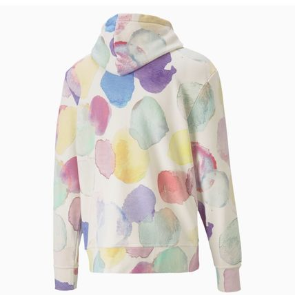 PUMA Hoodies Pullovers Dots Unisex Sweat Street Style Collaboration 3