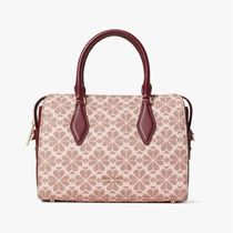 kate spade new york Heart Flower Patterns Casual Style 2WAY Leather Party Style