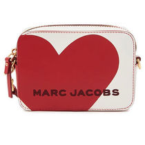 MARC JACOBS Casual Style Street Style Plain Leather Bags