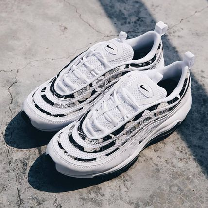 Nike AIR MAX 97 Casual Style Unisex Street Style Plain Logo Low-Top Sneakers