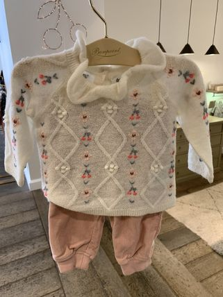 Bonpoint Street Style Baby Girl Tops