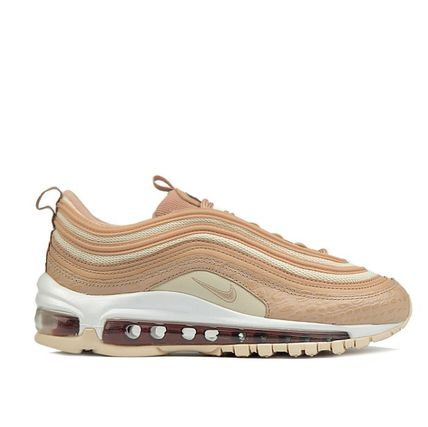 Nike AIR MAX 97 Rubber Sole Casual Style Unisex Sport Sandals Python Logo