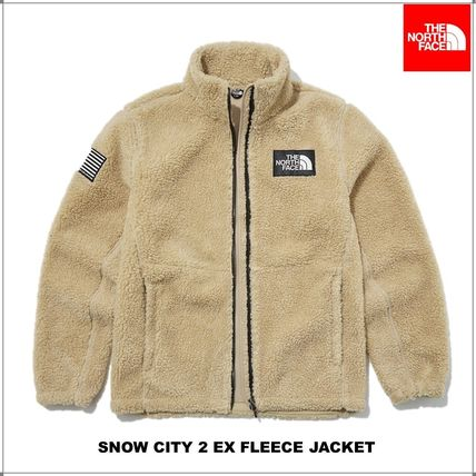 THE NORTH FACE SNOW CITY Unisex Shearling Fleece Jackets Jackets