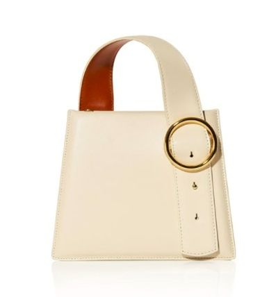 Casual Style 2WAY 3WAY Plain Leather Elegant Style Crossbody
