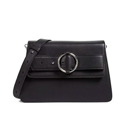 Casual Style Plain Leather Elegant Style Crossbody