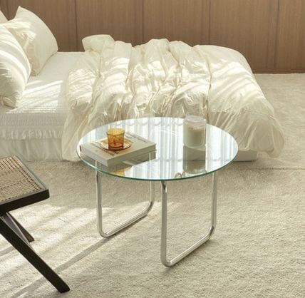 PAPER GARDEN Clear Furniture Coffee Tables Table & Chair
