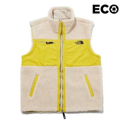THE NORTH FACE ARCATA Unisex Shearling Outdoor Vests & Gillets