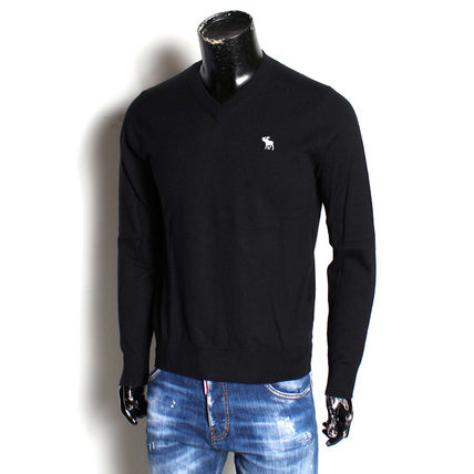 Abercrombie & Fitch Sweaters Crew Neck Long Sleeves Surf Style Sweaters