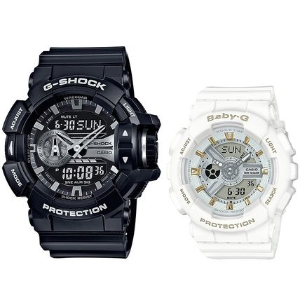 CASIO Casual Style Unisex Street Style Silicon Party Style