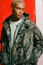 SWEET SKTBS Camouflage Street Style Long Coats