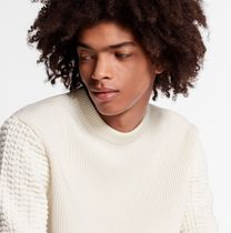 Louis Vuitton Sweaters Crew Neck Unisex Blended Fabrics Street Style Long Sleeves 5