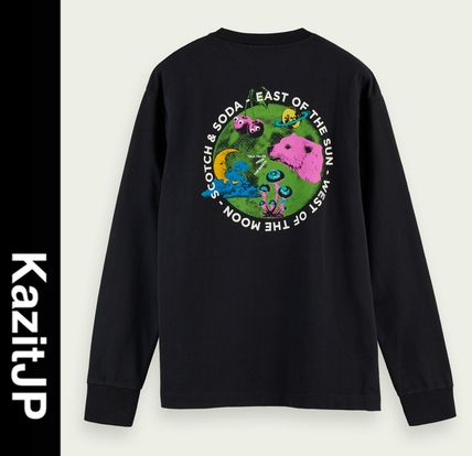 Long Sleeves Long Sleeve T-shirt Logo Surf Style