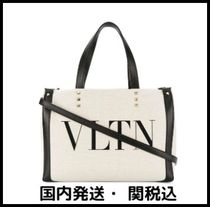 VALENTINO VLTN Casual Style Totes