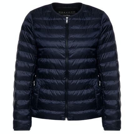 Short Plain Medium Down Jackets