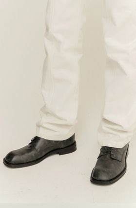 ★ANDERSSON BELL★CREVICE SQUARE TOE DERBY SHOES