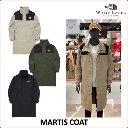 THE NORTH FACE MARTIS Casual Style Unisex Long Coats