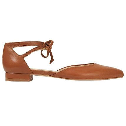french sole new york Leather Flats