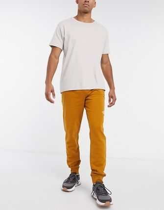 THE NORTH FACE Tapered Pants Sweat Street Style Plain Logo Loungewear