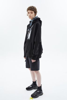 ★ANDERSSON BELL★RE-MADE STEWART HIGH-TOP SNEAKERS