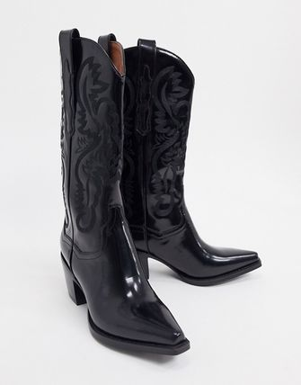 Cowboy Boots Casual Style Leather Boots Boots