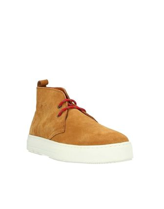 Suede Street Style Logo Boots