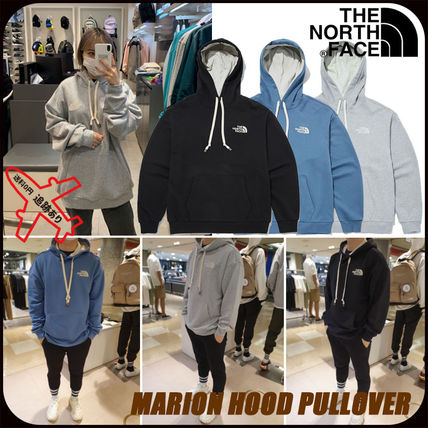 THE NORTH FACE Hoodies Unisex Street Style Logo Outdoor Hoodies