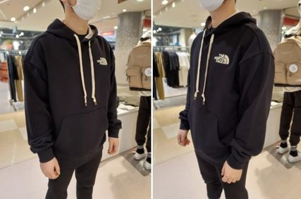 THE NORTH FACE Hoodies Unisex Street Style Logo Outdoor Hoodies 13