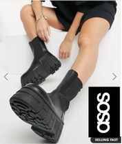 ASOS Round Toe Plain Ankle & Booties Boots