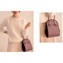 ndearose Casual Style Plain Elegant Style Shoulder Bags