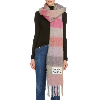 Knit & Fur Scarves