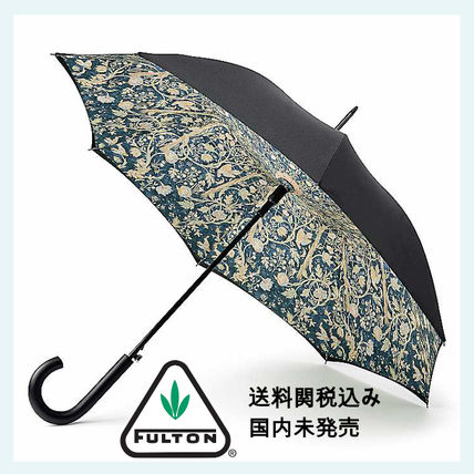 fulton Flower Patterns Plain Umbrellas & Rain Goods